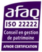 Arobas Finance, certifiée Iso 22222*, gage de notre professionnalisme