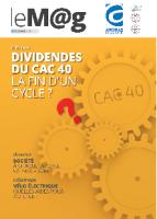 Le M@g Arobas Finance n°83 / DIVIDENDES du CAC 40, la fin d'un cycle ?
