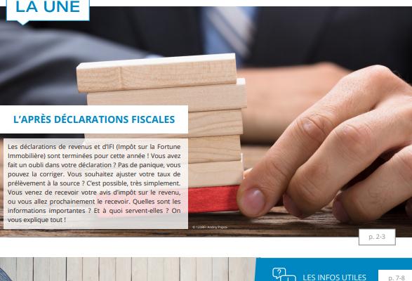 Lettre fiscale n° 15 - L'après déclarations fiscales